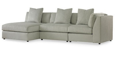 Kravet Derring Armless Sectional FS520ACH/AC/CC  sc 1 st  Kravet Fabric : armless sectionals - Sectionals, Sofas & Couches