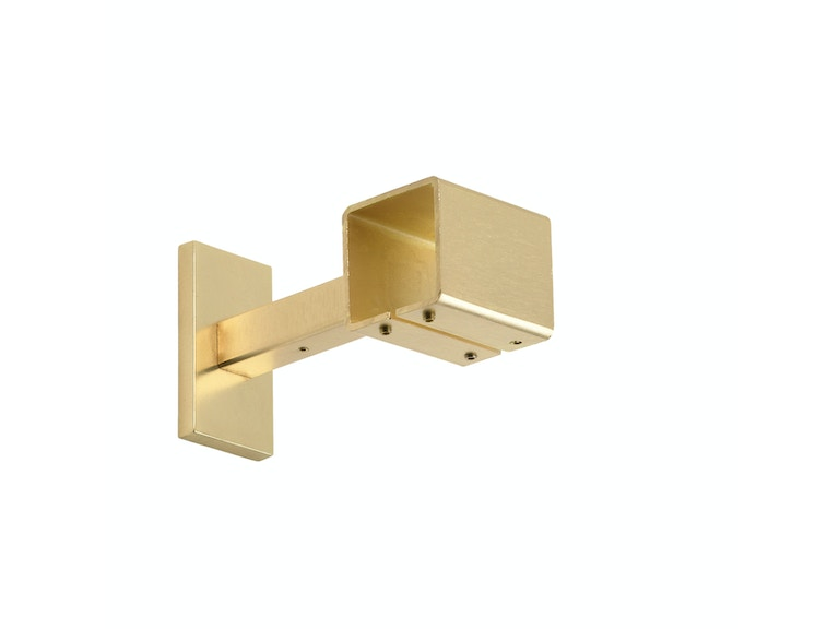 Kravet 4in Projection Bracket-Satin Gold HDW20056.4