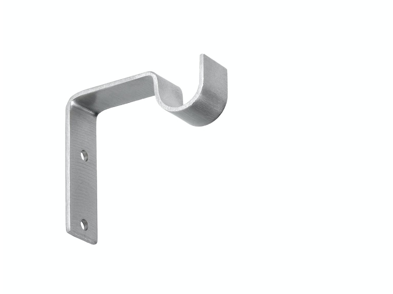 Kravet Single Metal Bracket 3in Projection-Satin Nickel HDW20116.106