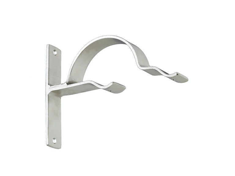 Kravet Double Bypass Bracket-Satin Nickel HDW20356.106
