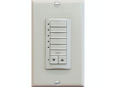 Kravet Wireless 5 Channel Wall Mount-Ivory HDW20404.116