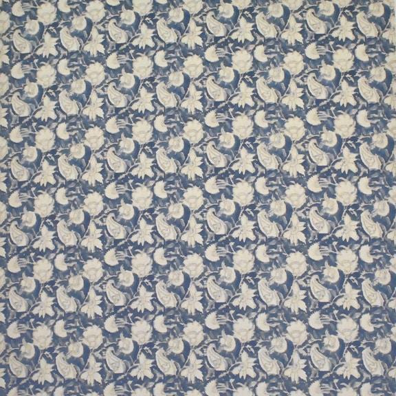 ralph lauren home belgrade batik flora indigo lcf65282frl - Ralph Lauren Indigo