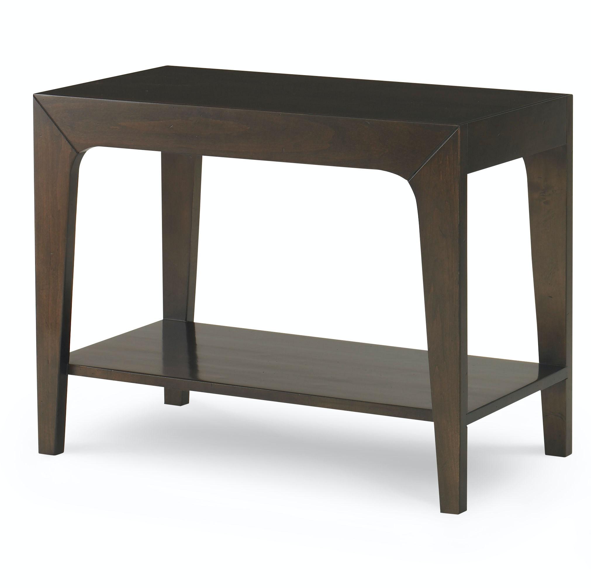 Kravet Slim Rectangle Side Table, Wood Top OT431W 2