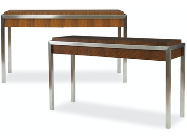 Kravet Mozambique and Steel Console Table OT721