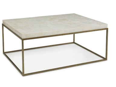 Kravet Brass/Crystal Stone Cocktail Table OT801B/C