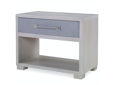 Kravet Hayground One Drawer Grasscloth Side Table OT961G-L