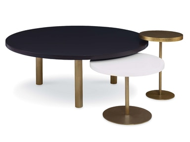 Kravet Viva Brushed Brass Tables OTS100B