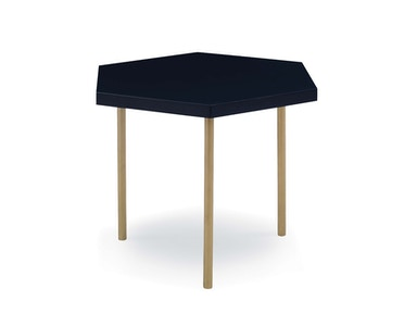 Kravet Cortina Bunching Table Brushed Brass OTS105B