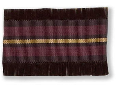 Kravet Couture RIBBON BORDER PLUM T30209.10