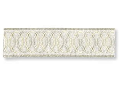 Kravet Couture SIGNATURE OVAL TAPE ICE T30297.135
