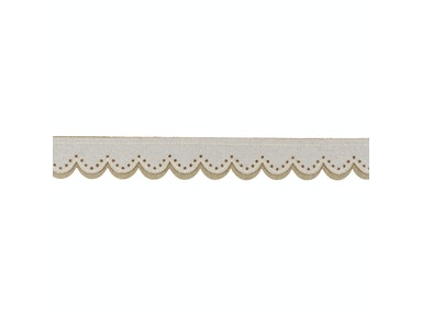 Kravet Couture SWISS SCALLOP SNOW DRIFT T30715.16