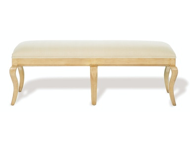 Kravet Cabriole Bench WB3/54RE5