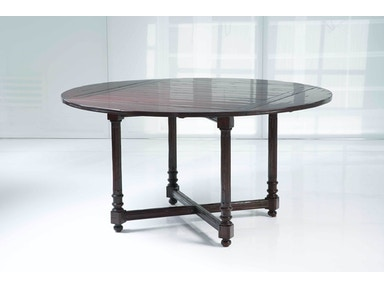 Kravet Fluted 4 Leaf Dining Table WD1/42SR IP CR