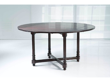 Kravet Fluted Square to Round Dining Table WD1/42SR IP CR