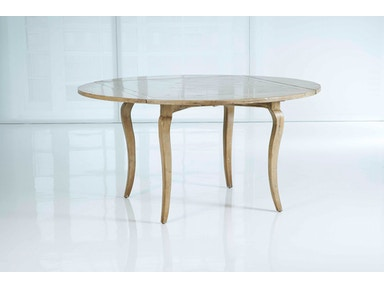 Kravet Cabriole Square to Round Table WD3/42SR PQ