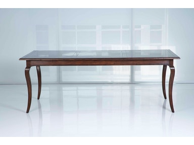 Kravet Cabriole Rectangle Dining Table WD3/84RE IGC RN