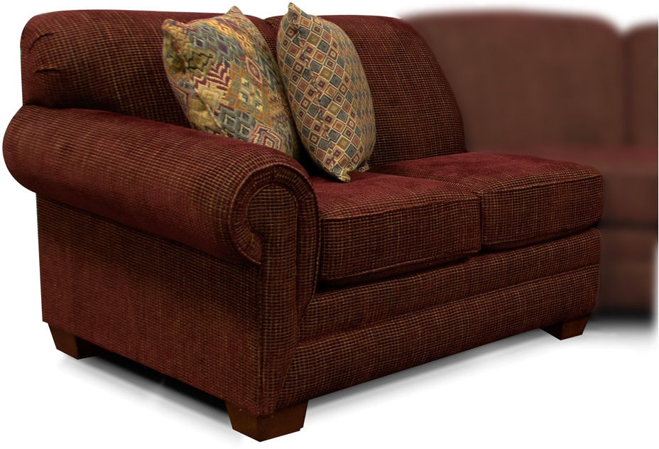 England Living Room Monroe Left Arm Facing Loveseat 1430 28 Bears