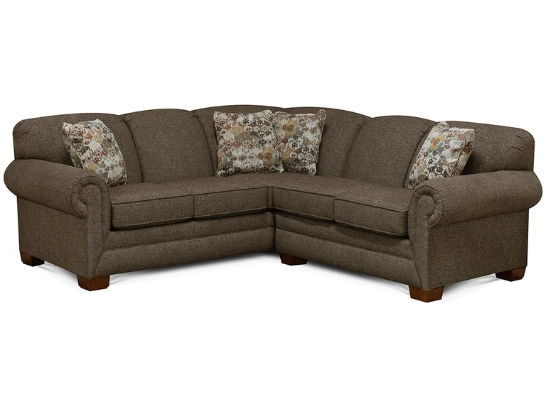 England Living Room Monroe Sectional 1430 Sect Pittsfield Furniture Co Pittsfield Ma