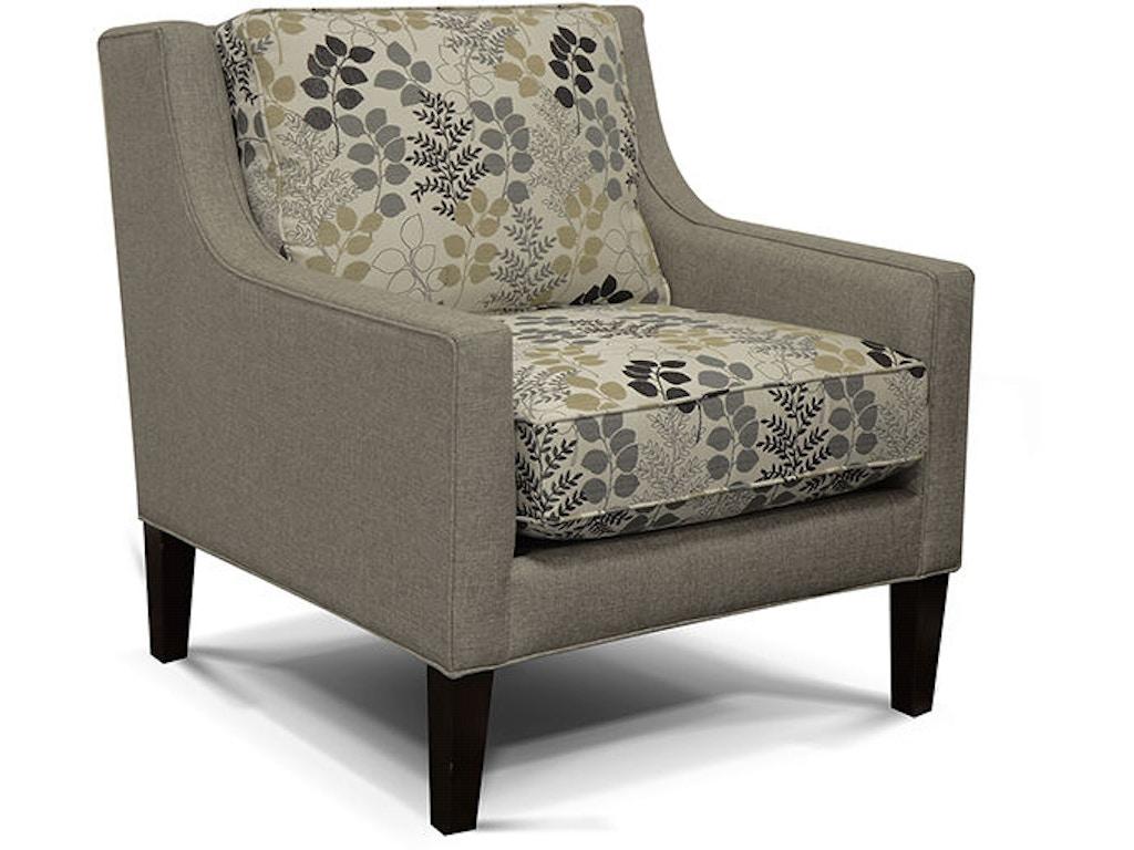 England Living Room Lowe Arm Chair 1884 Morris Furniture Company Albert Lea Mn