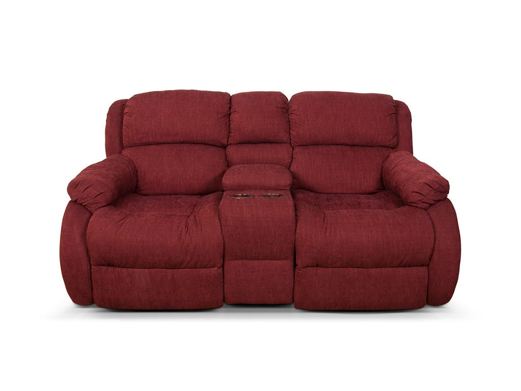 England Living Room Hali Double Reclining Loveseat Console 2010 85 Red Door Interiors