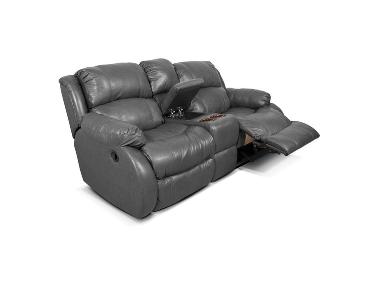 England Litton Double Reclining Loveseat Console 201085L