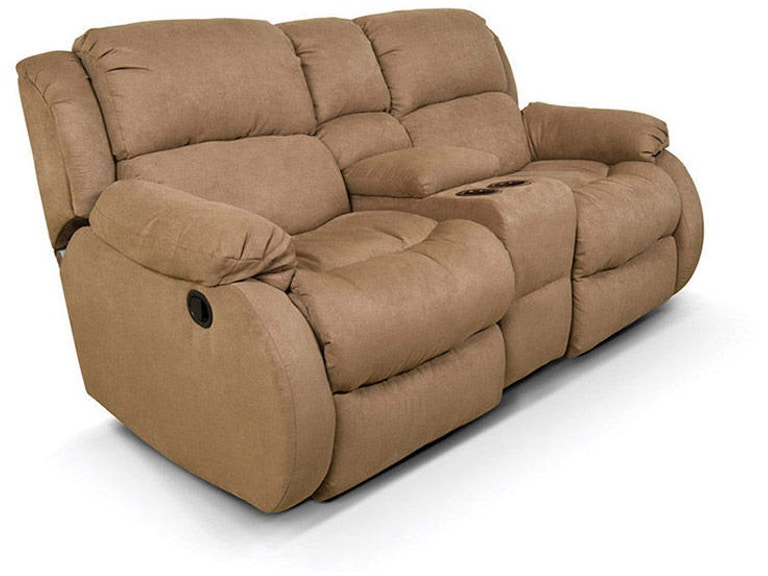 England Hali Double Rocking Reclining Loveseat Console 2010-90