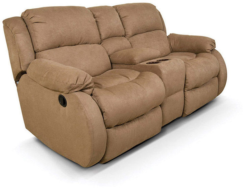 brown mahala reclining console double mn loveseat center with for