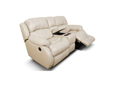England Litton Double Rocking Reclining Loveseat Console 201090L