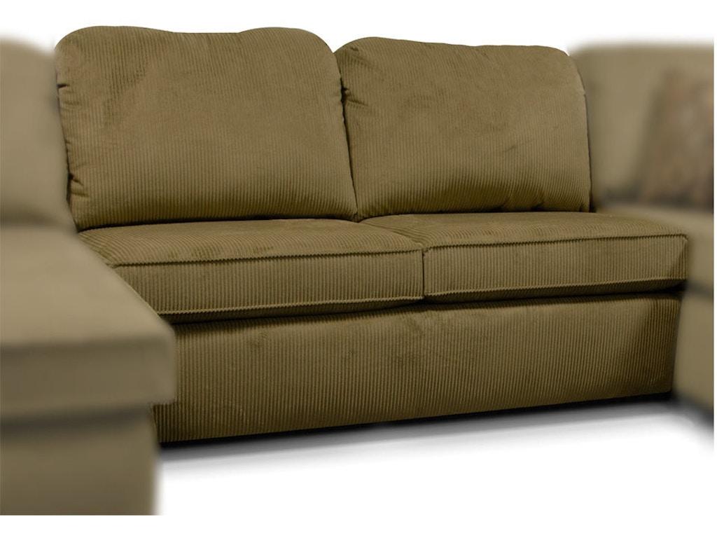 England Living Room Malibu Armless Sofa 2400 40 Trivett