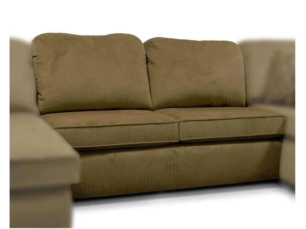 england malibu armless sofa