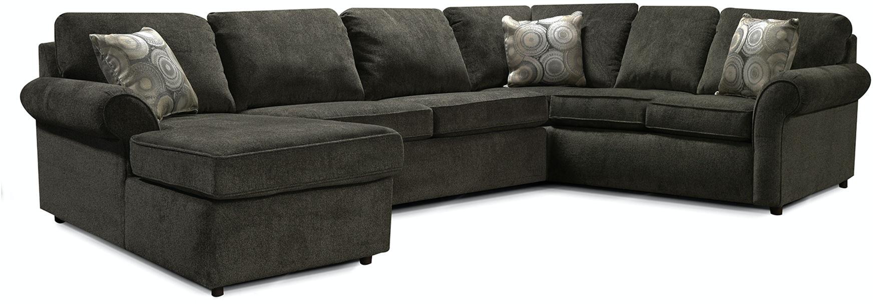 England Living Room Malibu Sectional 2400 Sect England Furniture