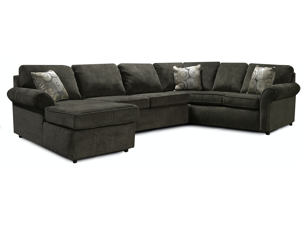 England Living Room Malibu Sectional 2400 Sect Scholet