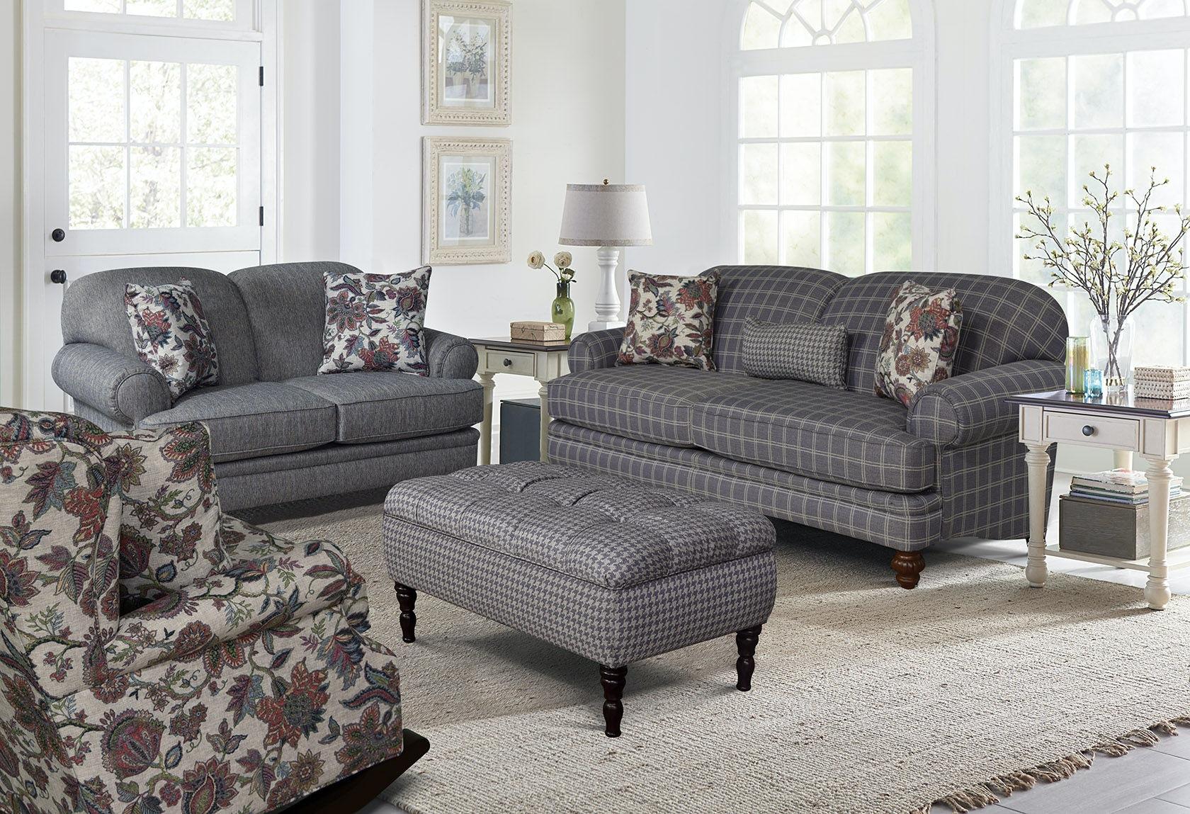 England Living Room Bill Sofa 2545 The Furniture House