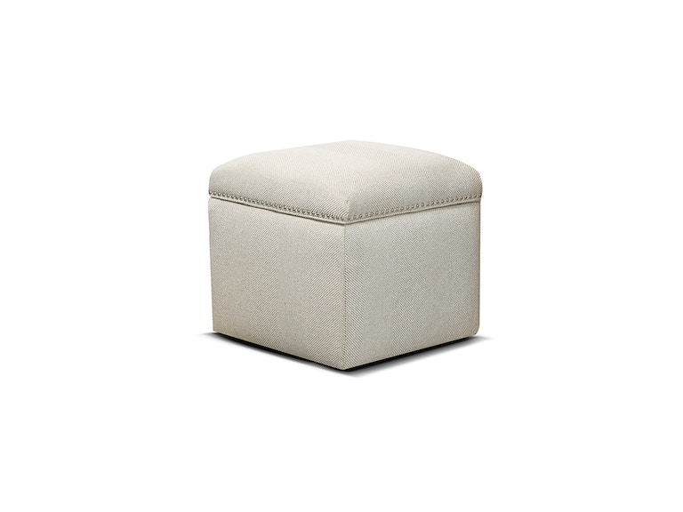 England Parson Storage Ottoman with Nails 2F0081N