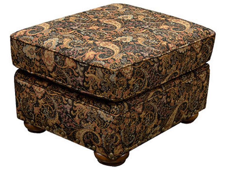 England Neyland Ottoman with Nails 2H07N