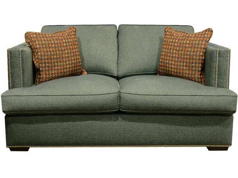 England Keck Loveseat with Nails 3K06N