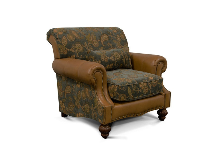 England Living Room Loudon Chair 4354L England Furniture New Tazewell TN
