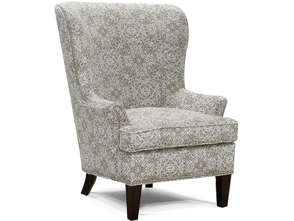 england living room saylor arm chair with nails 4534n trivett 39 s furniture fredericksburg va. Black Bedroom Furniture Sets. Home Design Ideas