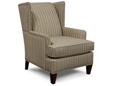 England Living Room Shipley Arm Chair with Nails