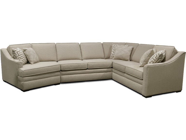 England living room thomas sectional 4t00 sect england for England leather sectional sofa