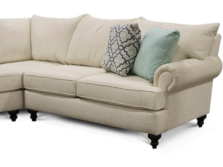England Living Room Rosalie Right Arm Facing Loveseat 4Y00-27 ...