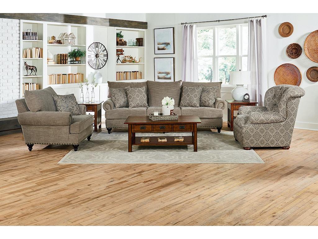 England Living Room Rosalie Sofa 4Y05 - Lynchs Furniture Company ...