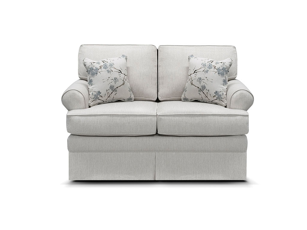 England Living Room William Loveseat Glider 5330 88 Moores Fine Furniture Pottstown And