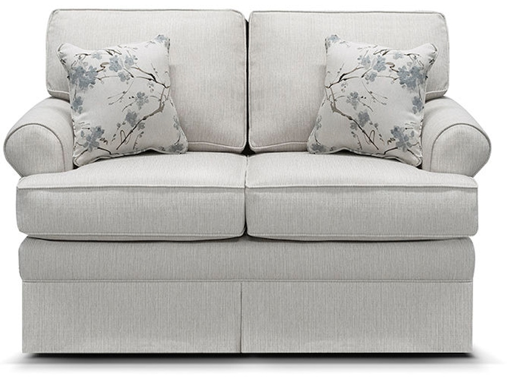 England Living Room William Loveseat Glider 5330 88 Trivett 39 S Furniture Fredericksburg Va
