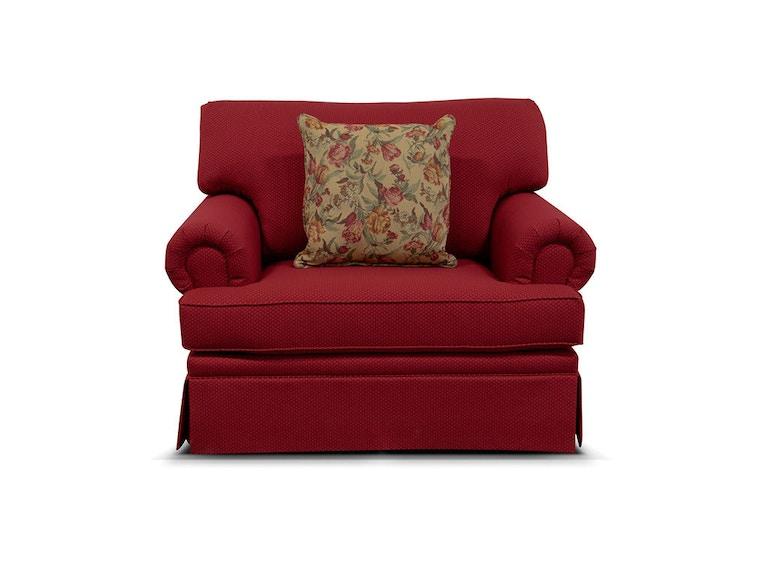 Cambria Chair And A Half Glider - England Living Room Cambria Storage Ottoman 5357-R - England
