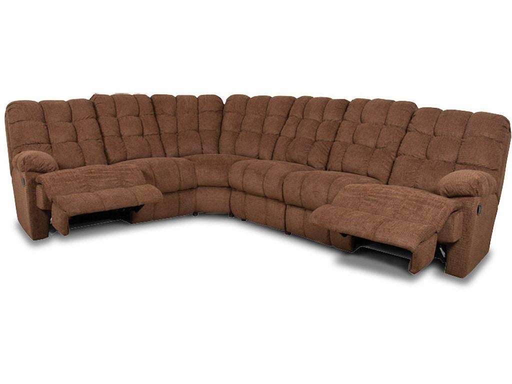 England Living Room Sectional Ez200 Sect Arthur F
