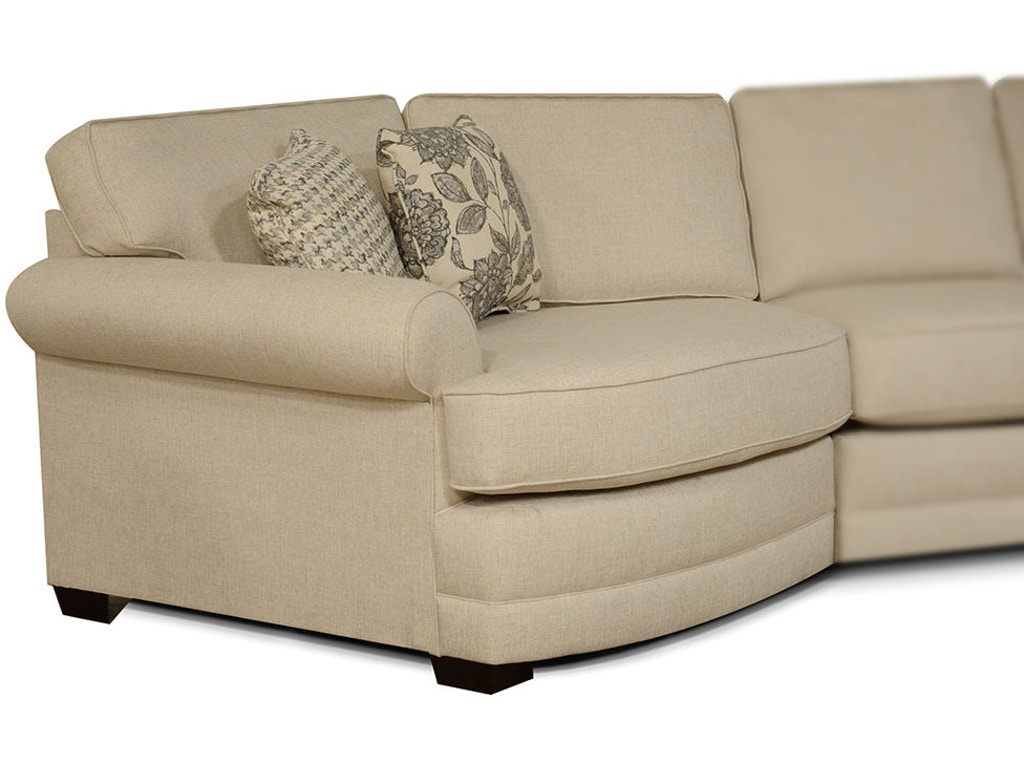 England Living Room Brantley LAF Cuddler 5630-94 - England ...