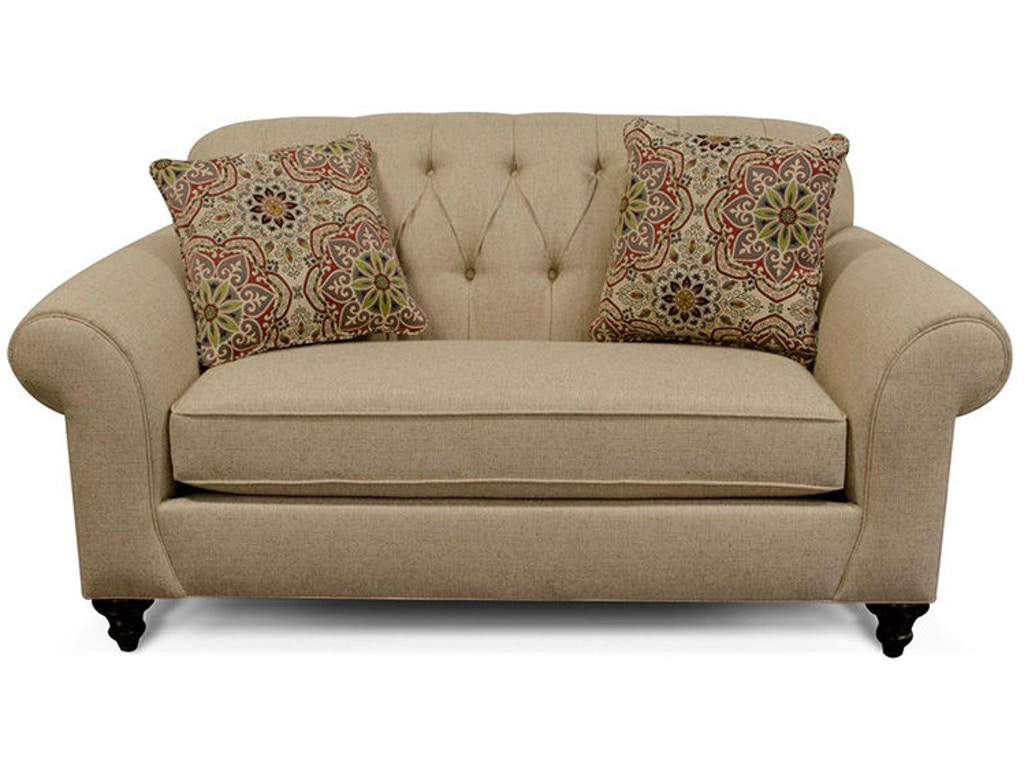 England living room stacy loveseat 5736 england for New england furniture