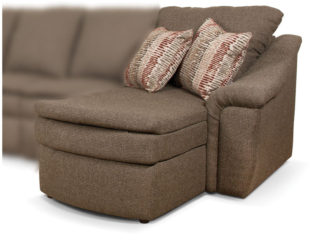 England living room right arm facing chaise lounge ez10005 for S shaped chaise lounge chairs
