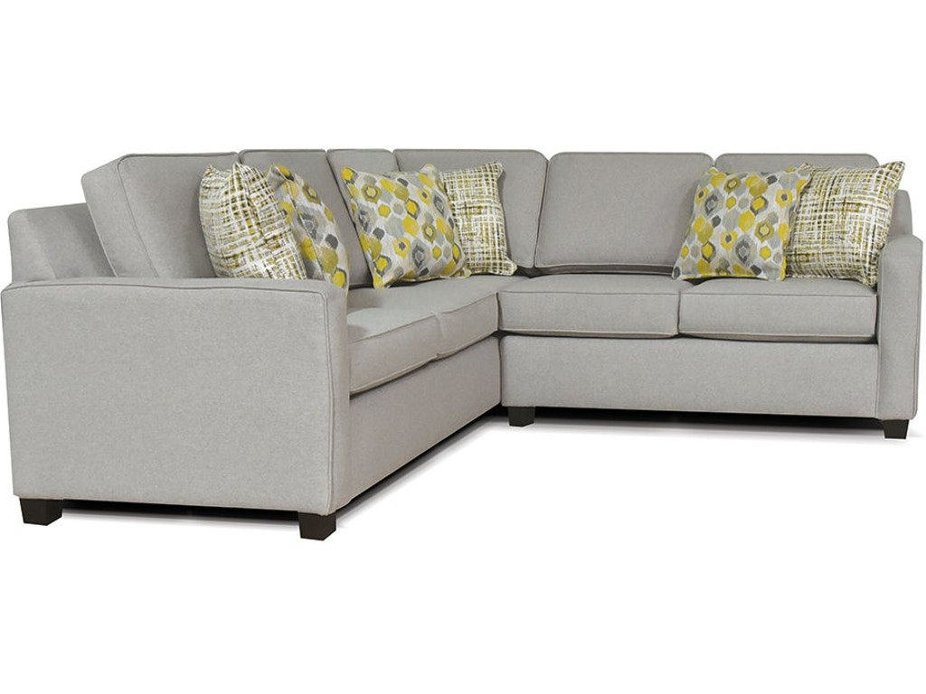 England Living Room River West Sectional 5a00 Sect